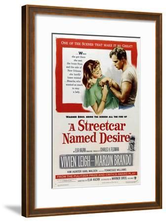 A Streetcar Named Desire, 1951, Directed by Elia Kazan--Framed Giclee Print