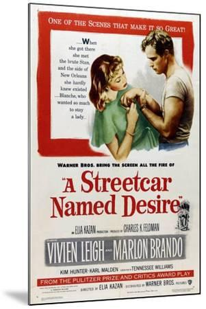 A Streetcar Named Desire, 1951, Directed by Elia Kazan--Mounted Giclee Print