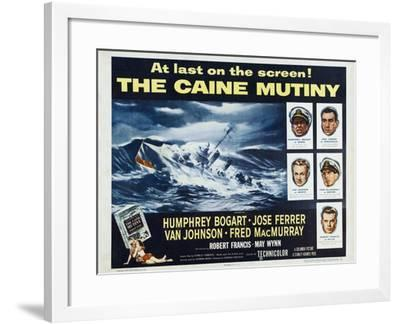 The Caine Mutiny, 1954, Directed by Edward Dmytryk--Framed Giclee Print