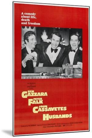 Husbands: a Comedy About Life, Death And Freedom, Directed by John Cassavetes, 1970--Mounted Giclee Print