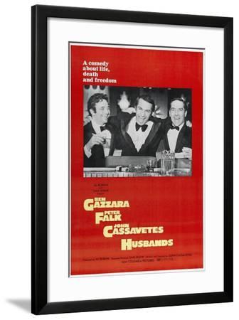 Husbands: a Comedy About Life, Death And Freedom, Directed by John Cassavetes, 1970--Framed Giclee Print