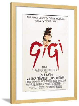 """The Parisians, 1958, """"Gigi"""" Directed by Vincente Minnelli--Framed Giclee Print"""