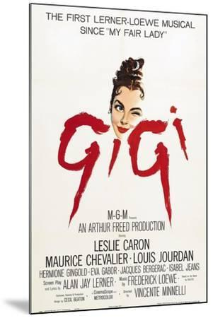 """The Parisians, 1958, """"Gigi"""" Directed by Vincente Minnelli--Mounted Giclee Print"""