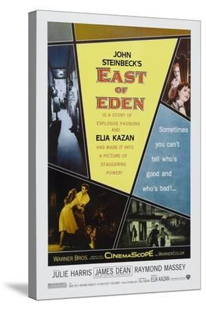 """John Steinbeck's East of Eden, 1955, """"East of Eden"""" Directed by Elia Kazan--Stretched Canvas Print"""