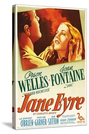Jane Eyre, 1944, Directed by Robert Stevenson--Stretched Canvas Print