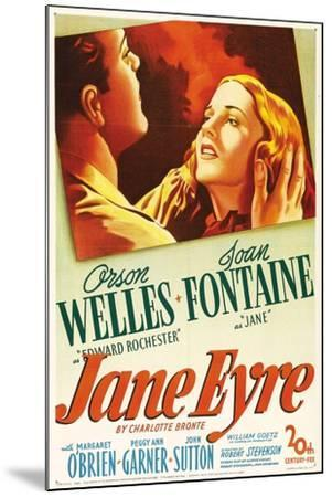 Jane Eyre, 1944, Directed by Robert Stevenson--Mounted Giclee Print