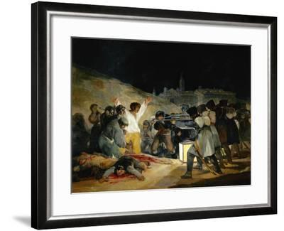 The 3rd of May In Madrid, 1814, Spanish School-Francisco de Goya-Framed Giclee Print
