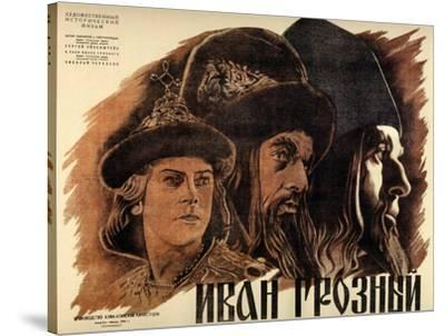 "Ivan the Terrible, Part One, 1944, ""Ivan Groznyj I"" Directed by Sergei M. Eisenstein--Stretched Canvas Print"