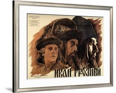 "Ivan the Terrible, Part One, 1944, ""Ivan Groznyj I"" Directed by Sergei M. Eisenstein--Framed Giclee Print"