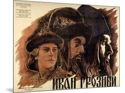 "Ivan the Terrible, Part One, 1944, ""Ivan Groznyj I"" Directed by Sergei M. Eisenstein--Mounted Giclee Print"