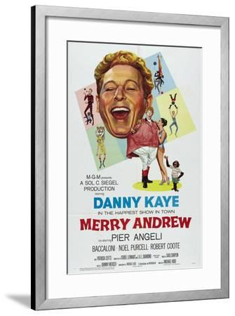 Merry Andrew, 1958, Directed by Michael Kidd--Framed Giclee Print