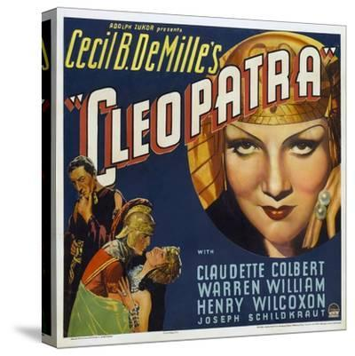 Cleopatra, 1934, Directed by Cecil B. Demille--Stretched Canvas Print