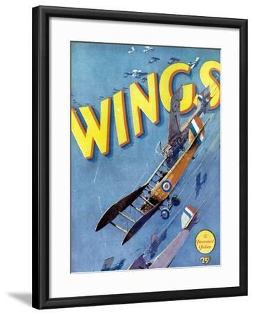 Wings, 1927, Directed by William A. Wellman--Framed Giclee Print
