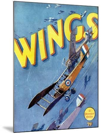 Wings, 1927, Directed by William A. Wellman--Mounted Giclee Print
