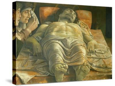 Lamentation of Christ, Ca. 1480-Andrea Mategna-Stretched Canvas Print