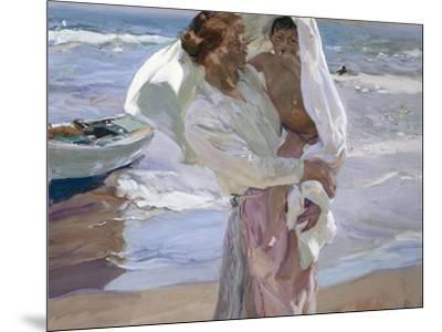 Just Out of the Sea, 1915-Joaqu?n Sorolla y Bastida-Mounted Giclee Print