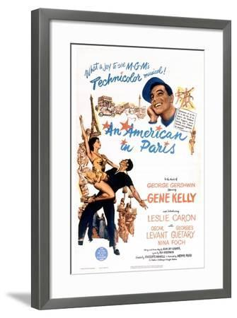 An American In Paris, 1951, Directed by Vincente Minnelli--Framed Giclee Print