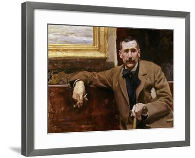 Benito Perez Galdos, 1894, Spanish School-Joaqu?n Sorolla y Bastida-Framed Giclee Print