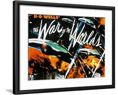 The War of the Worlds, 1953, Directed by Byron Haskin--Framed Giclee Print