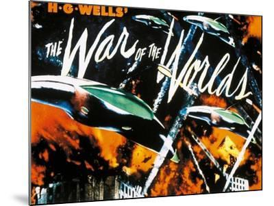 The War of the Worlds, 1953, Directed by Byron Haskin--Mounted Giclee Print