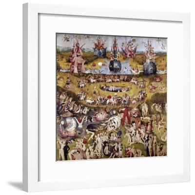 The Garden of Earthly Delights: Ecclesia's Paradise, 1503-1504, Dutch School-Hieronymus Bosch-Framed Giclee Print