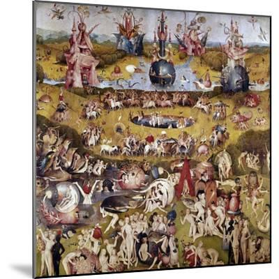 The Garden of Earthly Delights: Ecclesia's Paradise, 1503-1504, Dutch School-Hieronymus Bosch-Mounted Giclee Print