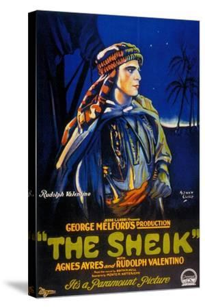 The Sheik, 1921, Directed by George Melford--Stretched Canvas Print