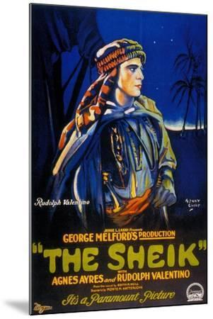 The Sheik, 1921, Directed by George Melford--Mounted Giclee Print