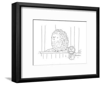 Best in Shower - Cartoon-Danny Shanahan-Framed Premium Giclee Print