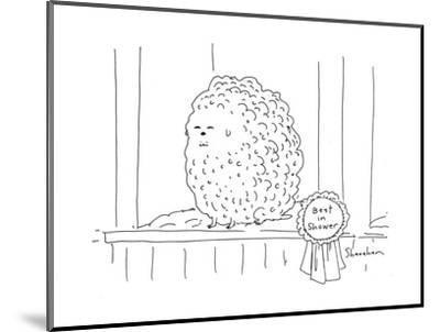 Best in Shower - Cartoon-Danny Shanahan-Mounted Premium Giclee Print