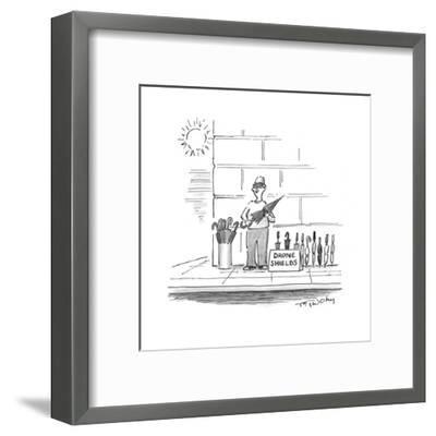 Drone Shields - Cartoon-Mike Twohy-Framed Premium Giclee Print