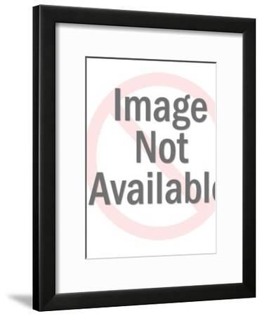 Male Drafter at Desk-Pop Ink - CSA Images-Framed Art Print