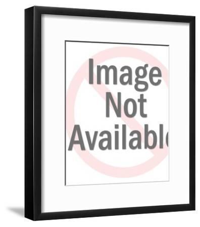 Horse in Bridle-Pop Ink - CSA Images-Framed Art Print