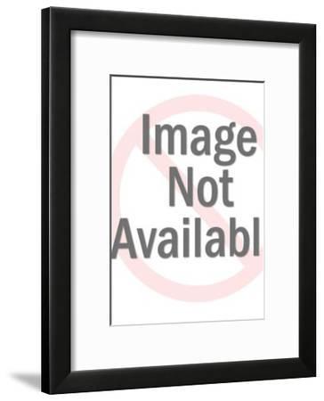 Jester Making Music-Pop Ink - CSA Images-Framed Art Print