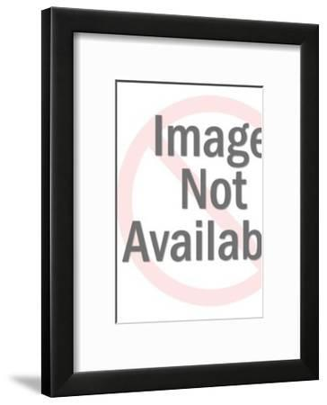 Man and Woman Dancing-Pop Ink - CSA Images-Framed Art Print