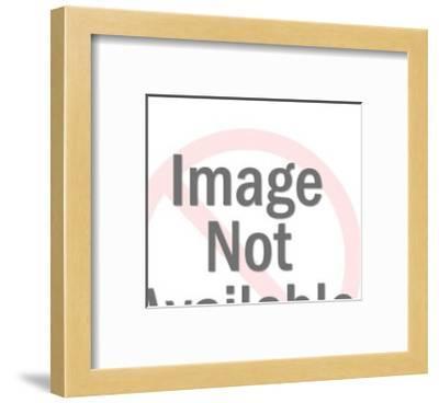 Christmas Gift Shoppers-Pop Ink - CSA Images-Framed Art Print
