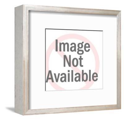 Smiling Delivery Man-Pop Ink - CSA Images-Framed Art Print