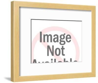 Man Reclined in Recliner-Pop Ink - CSA Images-Framed Art Print