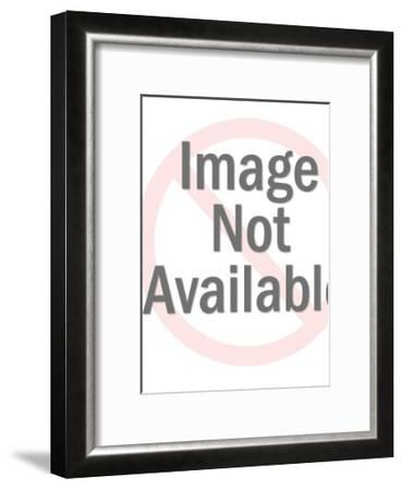 Hand Holding out Cross-Pop Ink - CSA Images-Framed Art Print