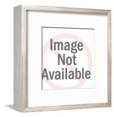 Sad World Man-Pop Ink - CSA Images-Framed Art Print