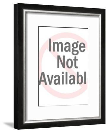 Woman is Queen of the World in Her Home-Pop Ink - CSA Images-Framed Art Print