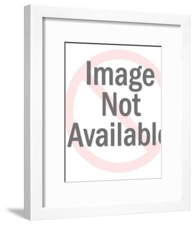 Girl Dressed as Bunny-Pop Ink - CSA Images-Framed Art Print