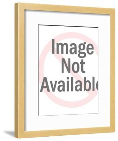 Sea Horse-Pop Ink - CSA Images-Framed Art Print