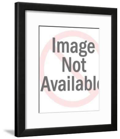 Silhouette of Woman-Pop Ink - CSA Images-Framed Art Print