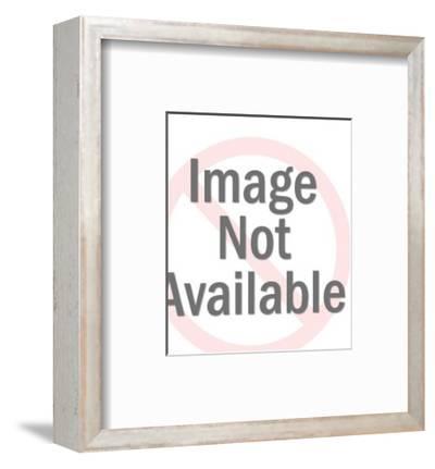Donkey Caught in Net-Pop Ink - CSA Images-Framed Art Print