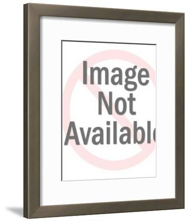 Man in Glasses Wearing Bow-tie-Pop Ink - CSA Images-Framed Art Print