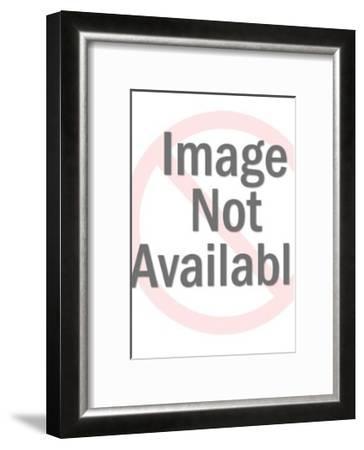 Doctor Holding Baby-Pop Ink - CSA Images-Framed Art Print