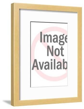 Man Pointing and Laughing-Pop Ink - CSA Images-Framed Art Print