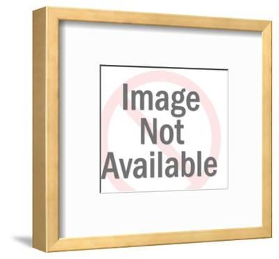 Thinking Man-Pop Ink - CSA Images-Framed Art Print