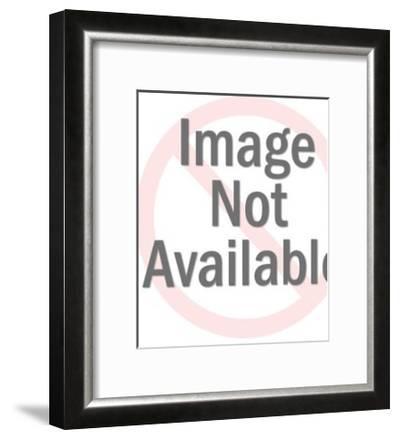 Santa Laughing-Pop Ink - CSA Images-Framed Art Print